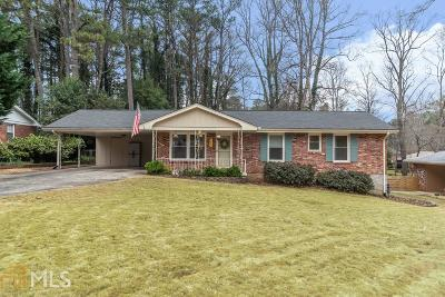 Tucker Single Family Home Under Contract: 4444 Locksley Rd