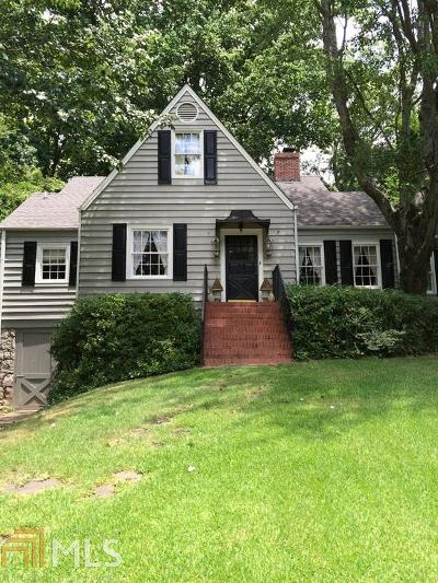 Atlanta Single Family Home New: 491 Princeton Way