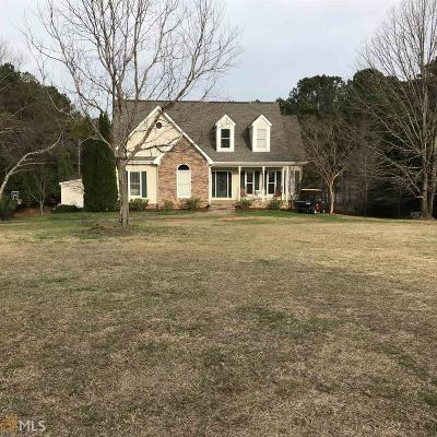 Griffin Single Family Home New: 169 S Walkers Mill Rd