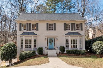 Roswell Single Family Home Under Contract: 440 Spring Ridge Trc