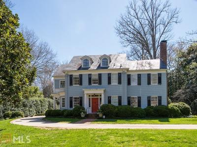 Druid Hills Single Family Home For Sale: 779 Clifton Rd