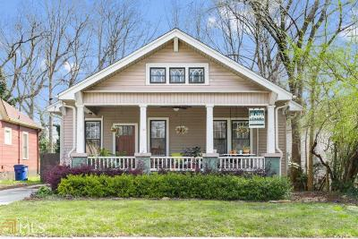 Capital View Single Family Home Under Contract: 1434 Athens Ave