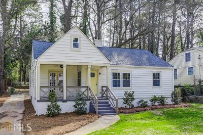 Fulton County Single Family Home Back On Market: 1148 Westmont