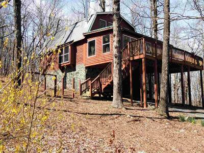 Jasper Single Family Home Under Contract: 115 Burnt Mountain Cove Rd