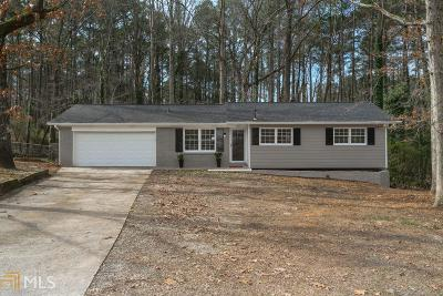 Stone Mountain Single Family Home Back On Market: 1489 Indian Forest Ct