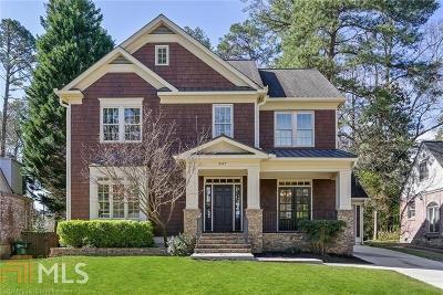 Morningside Single Family Home New: 847 Wildwood Rd