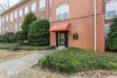 Marietta Condo/Townhouse Under Contract: 445 N Sessions St #2103