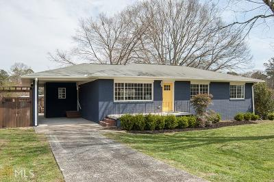 Marietta Single Family Home Under Contract: 2466 Chambers Dr