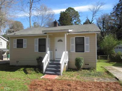 Clayton County Single Family Home Under Contract: 4620 City Vw