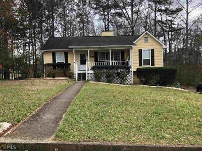 Lithia Springs Single Family Home Under Contract: 2887 Buckeye Ct