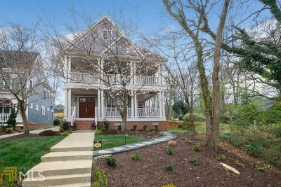 Inman Park Single Family Home New: 965 Austin Ave