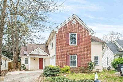 Peachtree City Single Family Home For Sale: 126 S Fairfield Dr