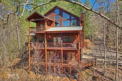 Fannin County Single Family Home Under Contract: 179 Wild View Holw