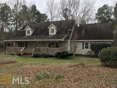 Milledgeville Single Family Home Under Contract: 131 County Line Church