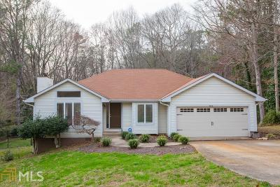 Flowery Branch Single Family Home Under Contract: 4434 Hidden Oaks Dr