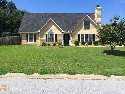 Loganville Single Family Home Under Contract: 110 Towler Shoals Dr