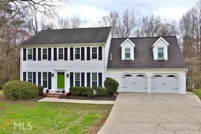 Roswell Single Family Home Under Contract: 285 Carriage Station Cir