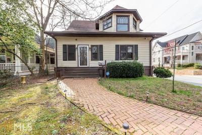 Grant Park Single Family Home New: 809 Cherokee Ave