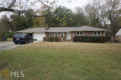 Lithia Springs Single Family Home For Sale: 552 Hasty Dr