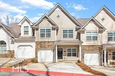 Kennesaw GA Condo/Townhouse New: $210,000