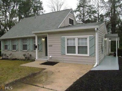 College Park Single Family Home Under Contract: 5428 Westford Cir