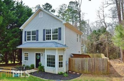 Gainesville Single Family Home Under Contract: 9065 Lemans Trl