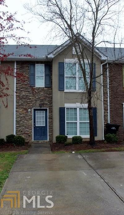 Clayton County Condo/Townhouse New: 1922 Grove Way