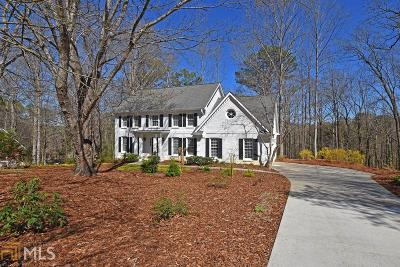Roswell Single Family Home Under Contract: 830 Gable Ridge