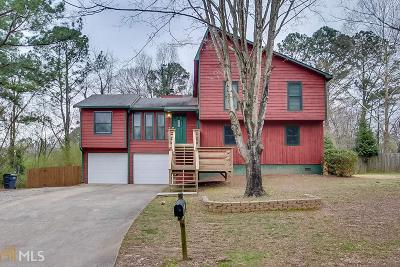 Acworth Single Family Home New: 4498 Hickory Grove