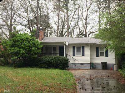 Hapeville Single Family Home New: 305 Maple