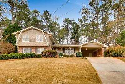 Tucker Single Family Home Under Contract: 2702 N Hudlow Ct