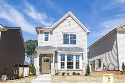 Stone Mountain Single Family Home New: 5272 Hearthstone St