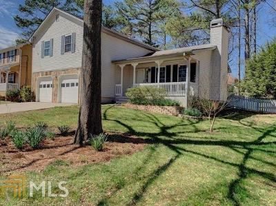 Lawrenceville Single Family Home Under Contract: 2111 Rocky Mill Dr