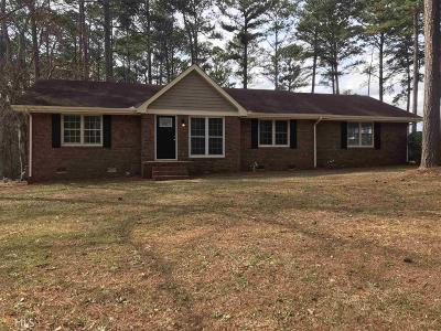 Newnan Single Family Home Under Contract: 38 Thigpen Rd