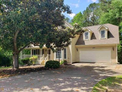 Acworth Single Family Home New: 177 Picketts Lake Dr