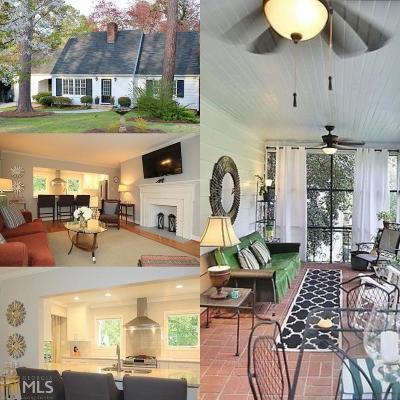 Atlanta Single Family Home New: 1070 Beech Haven Road NE