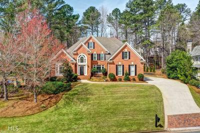 Alpharetta Single Family Home Back On Market: 3760 Newport Bay Dr