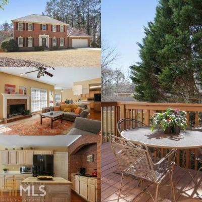 Alpharetta Single Family Home New: 415 De Malle Ct