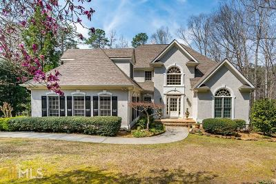 Acworth Single Family Home Under Contract: 5375 Thornapple Ln