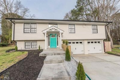 Stone Mountain Single Family Home Under Contract: 1759 Pounds Rd