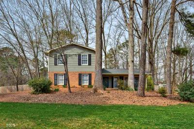 Lilburn Single Family Home Under Contract: 1438 Ridgeland Ct