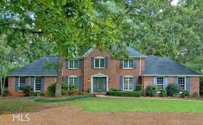 Peachtree City Single Family Home New: 116 Rolling Green