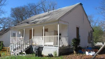 Newnan Single Family Home New: 6 Glenn St