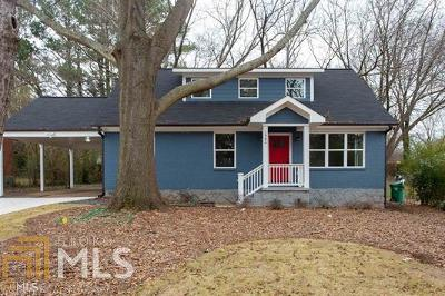Dekalb County Single Family Home New: 1982 Willa Dr