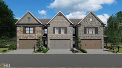 Gwinnett County Condo/Townhouse New: 2579 Irwell Way