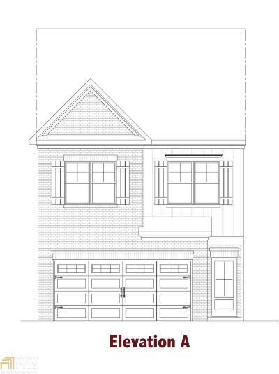 Gwinnett County Condo/Townhouse New: 2529 Irwell Way
