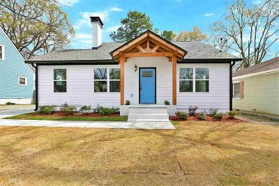 Hapeville Single Family Home Under Contract: 3412 Orchard St