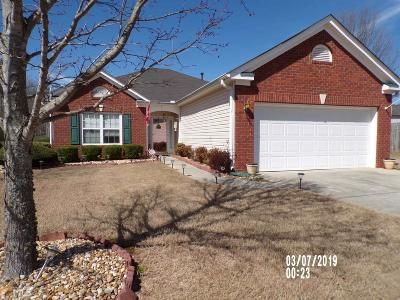 Dacula Single Family Home New: 486 Hever Castle Way #3