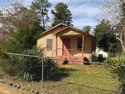 Milledgeville Single Family Home New: 158 Park Ave