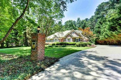 Buford Single Family Home New: 5445 N Richland Creek Rd